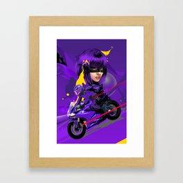 HG Ride Framed Art Print