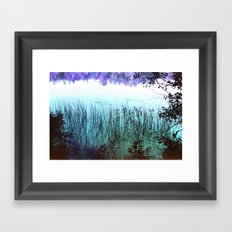 Reflective Tranquility Framed Art Print