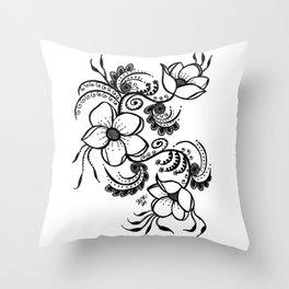 Zentangle Inspired Throw Pillows