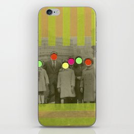 Fluo Family iPhone Skin