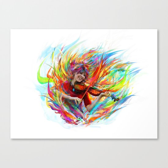 Lindsey Stirling Canvas Print