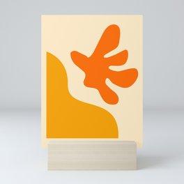 9 |Abstract Shapes | Minimal Shapes| 201116 | Minimal Art Mini Art Print
