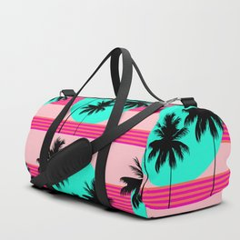 Hello California - Sunset Palms Duffle Bag