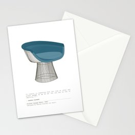 Platner Lounge Chair Stationery Cards