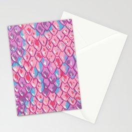 Snake Scales Stationery Cards