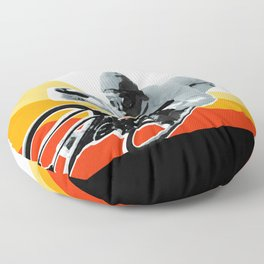 speed demon Floor Pillow