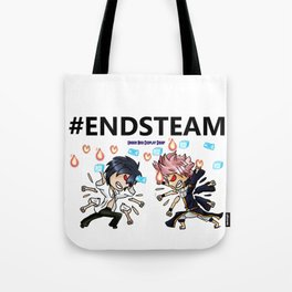 Fairy Tail #ENDSTEAM Tote Bag