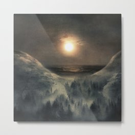 Hope in the moon Metal Print