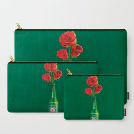 Dudes Love Roses (Green) Carry-All Pouch