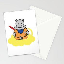 Hippo Goku with Nimbus Stationery Cards