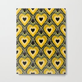 Shape Of Love Metal Print