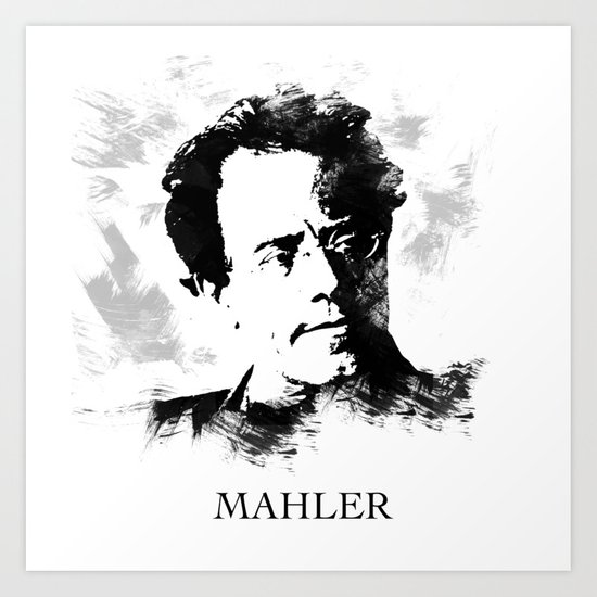 Gustav Mahler by vivalarevolucion
