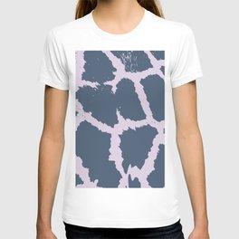 Giraffe Pattern - 2 colors Faded Purple & Pink T-shirt