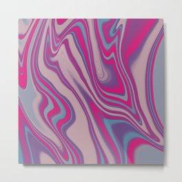 Pink Plush Metal Print