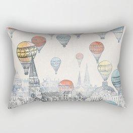 Voyages over Edinburgh Rectangular Pillow