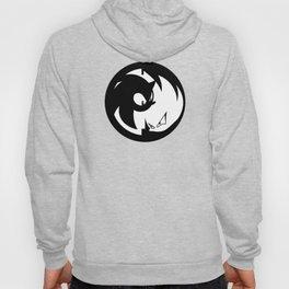 Wrath of Nazo Black and White Emblem Hoody