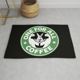 One For All Coffee Rug
