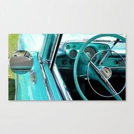 Aqua Interior Canvas Print