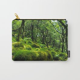 MOSSY ROCK ENGLISH FOREST Carry-All Pouch