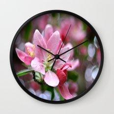 Spring blossoms Wall Clock