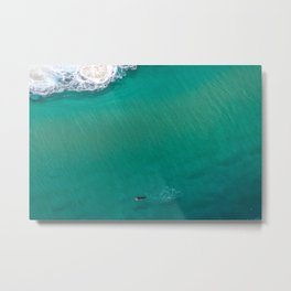 Surfing Day III Metal Print