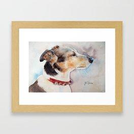 Jacky Framed Art Print