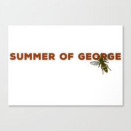Summer of George Costanza Canvas Print