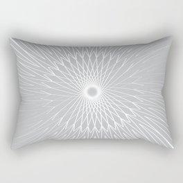 Mandala, Bicycle Wires 9 Rectangular Pillow
