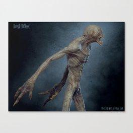 Blind Demon 2 Canvas Print
