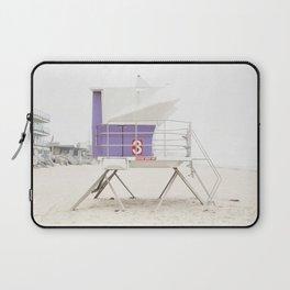 Purple Tower 3 Laptop Sleeve