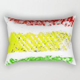 flag of bolivia 5 – Chalk version bolivian,boliviano,bolivian,Sucre, La Paz. Rectangular Pillow