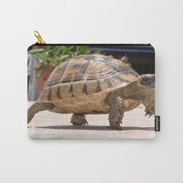 Marching Baby Tortoise  Carry-All Pouch