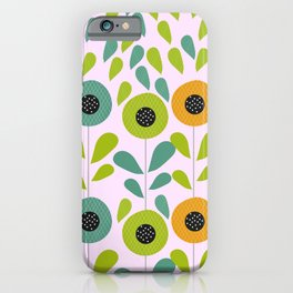 Cheery spring flowers iPhone Case