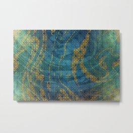 Pattern XXXIII Metal Print