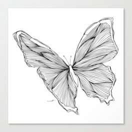 Butterfly Go Fly 1 Canvas Print
