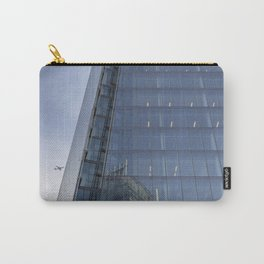 The Shard London and Jet Aircraft Carry-All Pouch