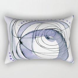 Attempt: ultra-violet abstract work Rectangular Pillow