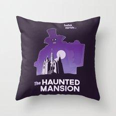 Hatbox Ghost - World Throw Pillow