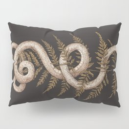 The Snake and Fern Pillow Sham