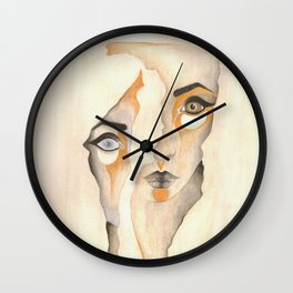 The Division of Self Wall Clock