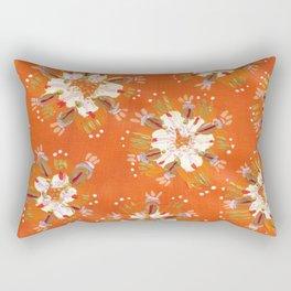 Blush Golden Autumn Rectangular Pillow