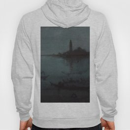 Nocturne in Blue and Silver - The Lagoon, Venice by James McNeill Whistler Hoody