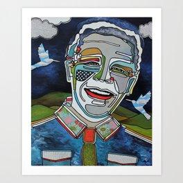 Nelson Mandela ''Madiba'' Art Print