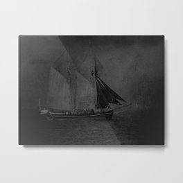Traditional sails Metal Print