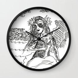 Mermaid Lorelei Wall Clock