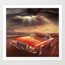 Interstate of Eternity Art Print