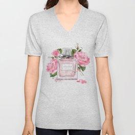 Miss pink Unisex V-Neck