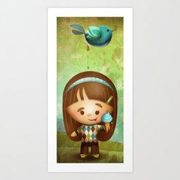 Bird Poop Art Print