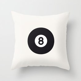 Billiard - Balls Serie Throw Pillow