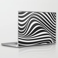 wave Laptop & iPad Skins featuring Wave by Tracie Andrews
